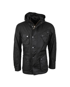 Barbour International Mens Black V Tech Wax Jacket