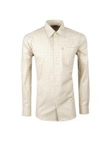 Barbour Sporting  Mens Green Balfron LS Shirt