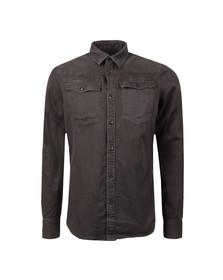 G-Star Mens Black Trell Denim LS Shirt