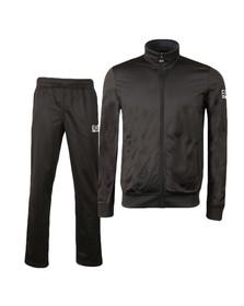 EA7 Emporio Armani Mens Black Tricot Full Zip Track Suit