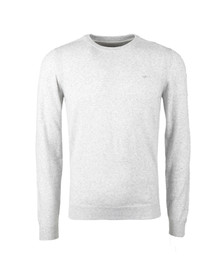 Diesel Mens Grey Maniky Crew Jumper