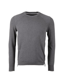 Diesel Mens Grey K-Bonis Jumper