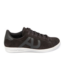 Armani Jeans Mens Grey Low Cut Sneaker