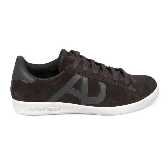 Armani Jeans Mens Grey Low Cut Sneaker main image