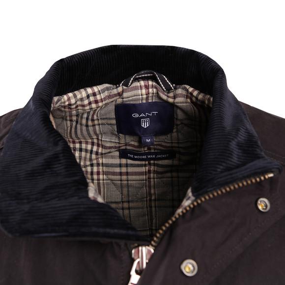 Gant Mens Blue Moore Wax Jacket main image
