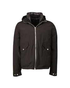 Paul Smith Mens Black Hooded Down Jacket