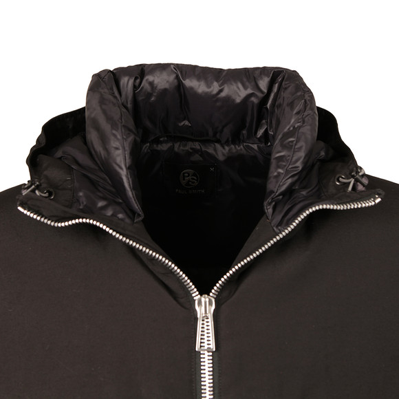 Paul Smith Mens Black Hooded Down Jacket main image