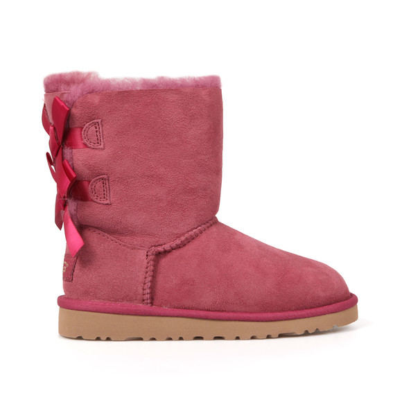 Ugg Girls Pink Bailey Bow Boot main image