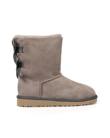 Ugg Girls Grey Bailey Bow Boot