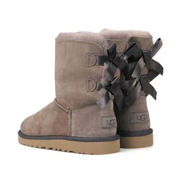Ugg Girls Grey Bailey Bow Boot main image