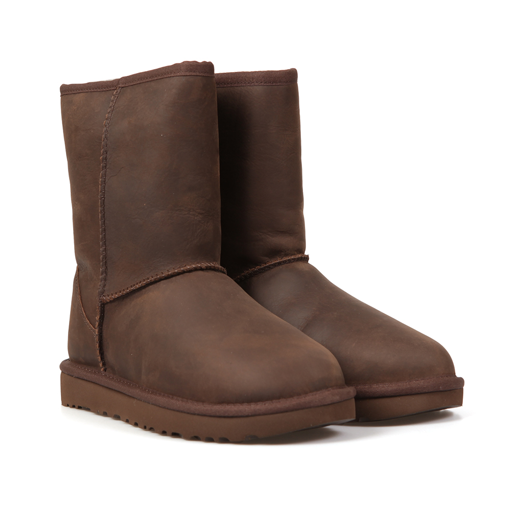 Classic Brownstone Short Leather Boot main image