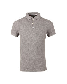 Superdry Mens Black S/S Grindle Polo