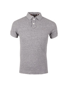 Superdry Mens Blue S/S Grindle Polo