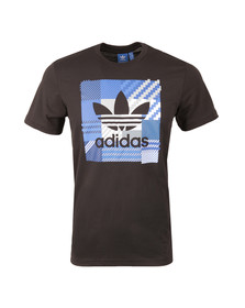 Adidas Originals Mens Black Impo Check Tee