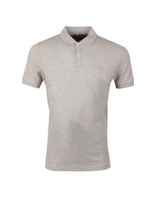 Aquascutum Mens Grey Hilton Pique Polo