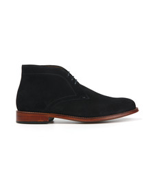 Paul Smith Mens Blue Morgan Suede Boot