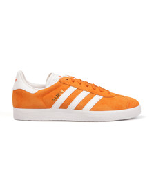 Adidas Originals Mens Orange Gazelle Trainer