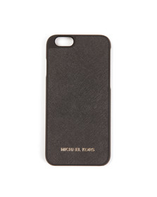 Michael Kors Womens Black Saffiano iPhone 6 Cover