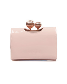 Ted Baker Womens Pink Julissa Etched Bobble Patent Small Purse
