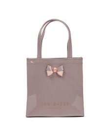 Ted Baker Womens Purple Minacon Colourblock Bow Small Icon Bag