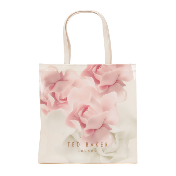 Ted Baker Womens Pink Kyracon Porcelain Rose Large Icon Bag main image
