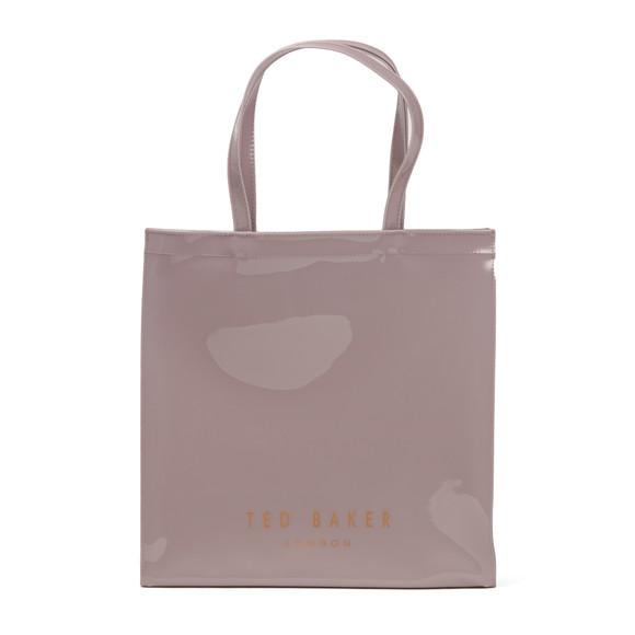 Ted Baker Womens Purple Elacon Colour Block Bow Large Icon Bag main image