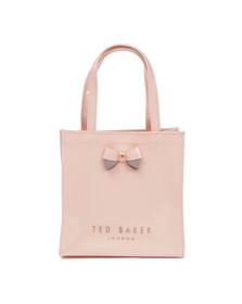 Ted Baker Womens Pink Minacon Colourblock Bow Small Icon Bag