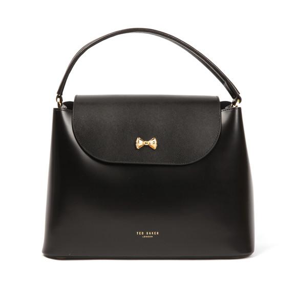 4fc64c45b3 Ted Baker Womens Black Adalinn Micro Bow Top Handle Tote Bag main image