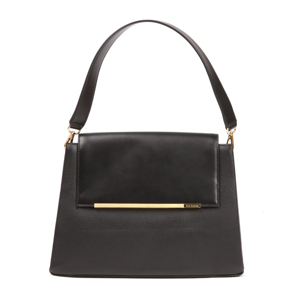 Fionah Folded Edge Detail Shoulder Bag main image