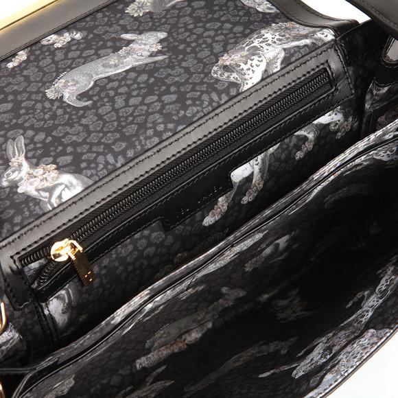 Ted Baker Womens Black Fionah Folded Edge Detail Shoulder Bag main image