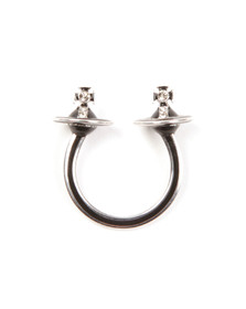 Vivienne Westwood Womens Silver Iona Ring