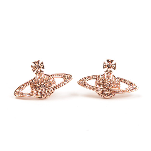 Vivienne Westwood Womens Pink Mini Bas Relief Earring main image