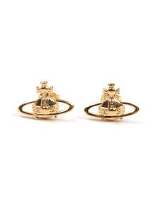 Vivienne Westwood Womens Gold Suzie Earrings