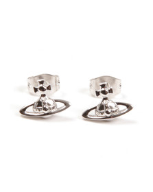 Vivienne Westwood Womens Silver Lorelei Stud Earrings