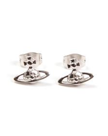 Vivienne Westwood Womens Silver Lorelei Stud Earrings