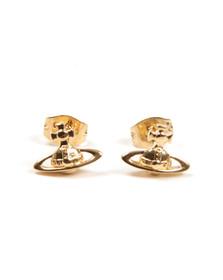 Vivienne Westwood Womens Gold Lorelei Stud Earrings