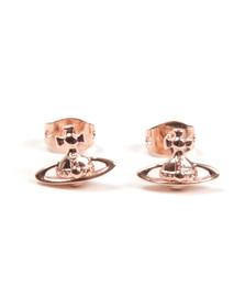Vivienne Westwood Womens Bronze Lorelei Stud Earrings
