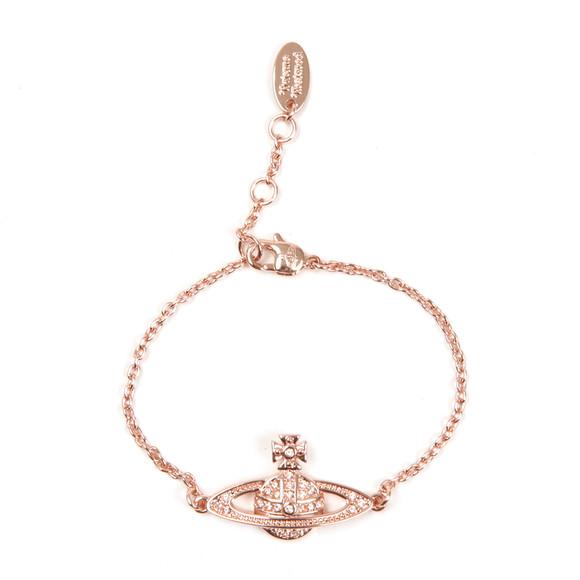 Vivienne Westwood Womens Pink Mini Bas Relief Chain Bracelet