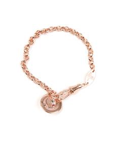 Vivienne Westwood Womens Pink Petite Orb Bracelet