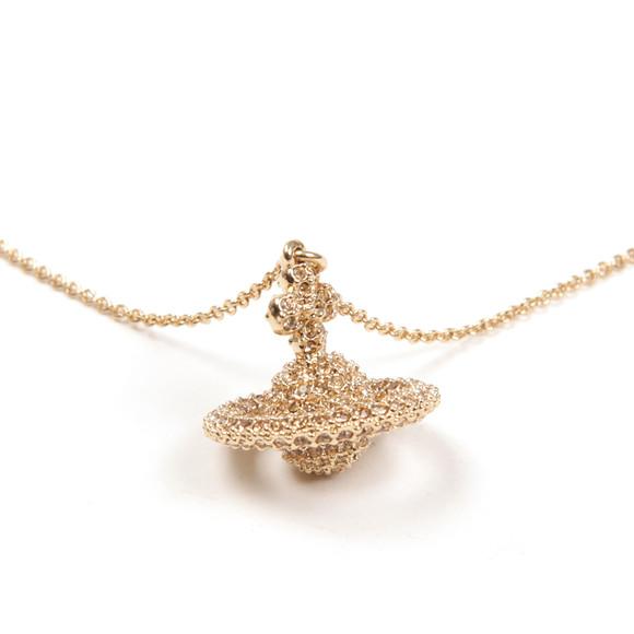 Vivienne Westwood Womens Gold Grace Small Pendant main image