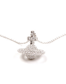 Vivienne Westwood Womens Silver Grace Small Pendant