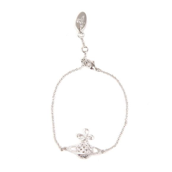Vivienne Westwood Womens Silver Simone Bas Relief Bracelet main image
