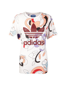 Adidas Originals Womens Multicoloured Rita Ora T Shirt