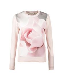 Ted Baker Womens Pink Arabel Porcelain Rose Jumper