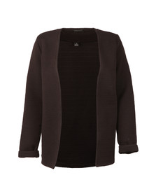 Maison Scotch Womens Black Sweat Blazer