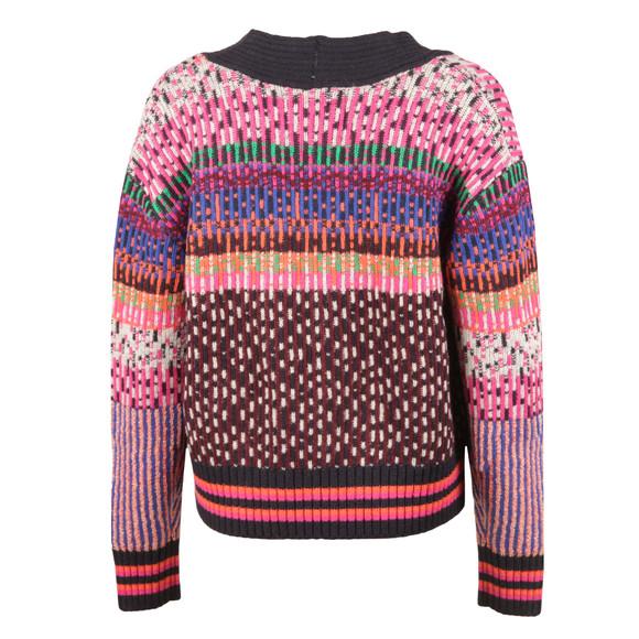 Maison Scotch Womens Multicoloured Knitted Cardigan main image