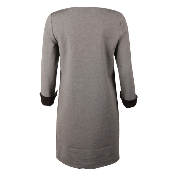 French Connection Womens Grey Lula Tiff Slash Neck Dress main image