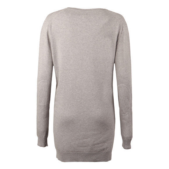 Barbour Lifestyle Womens Grey Meadowsweet Jumper main image