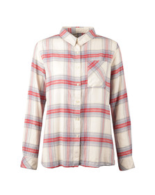 Barbour Lifestyle Womens Red Tidewater Shirt