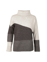 Patchwork Tonal Knit